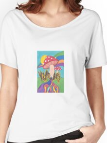 The Mushrooms Welcome You Back Women's Relaxed Fit T-Shirt
