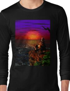 Donkey Kong Sunset Long Sleeve T-Shirt