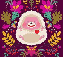 Hedgehog LOVE by Kimazo