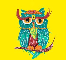 Owl by JoniWaffle