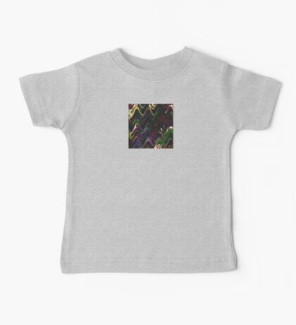Abstract Waves 30 Baby Tee
