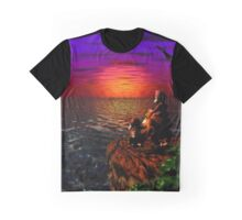 Donkey Kong Sunset Graphic T-Shirt