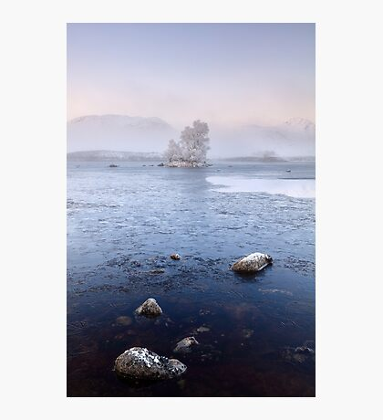 Glencoe Misty Winter Sunrise Photographic Print