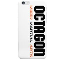 Octagon MMA Vertical iPhone Case/Skin