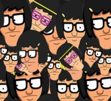 Tina Belcher Pattern Sticker