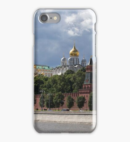 View on Moscow Kremlin iPhone Case/Skin
