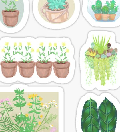 Plant Sticker Bundle Sticker