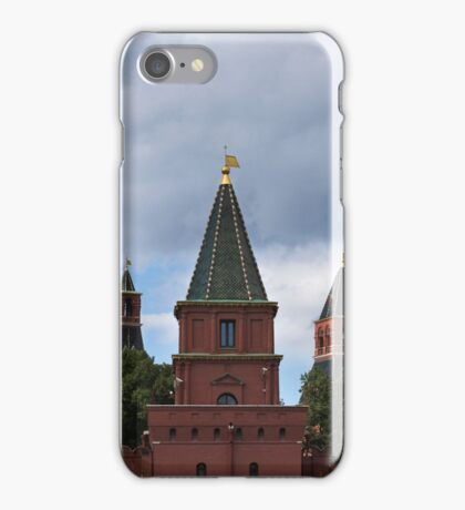 Russia, Moscow, view on Kremlin towers iPhone Case/Skin