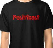 Political football (red) Classic T-Shirt