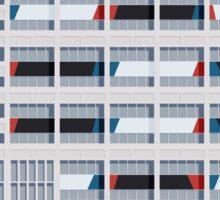 Le Corbusier Facade S03-2 Sticker