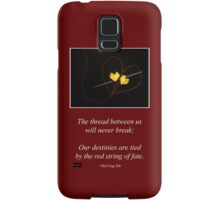 Red String of Fate Samsung Galaxy Case/Skin