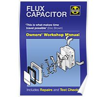 Owners' Manual - Flux capacitor - Poster Poster