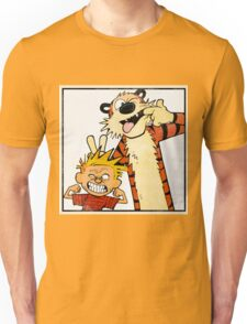 Calvin and Hobbes - Merry Christmas Unisex T-Shirt