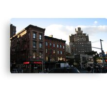 Waverly Place at 6th Avenue in Manhattan, NY Canvas Print