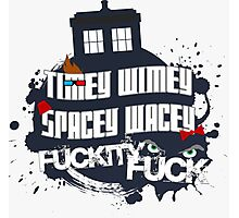 Doctor Who Catchphrases Photographic Print
