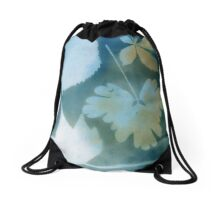 A collection of Fallen Leaves Drawstring Bag