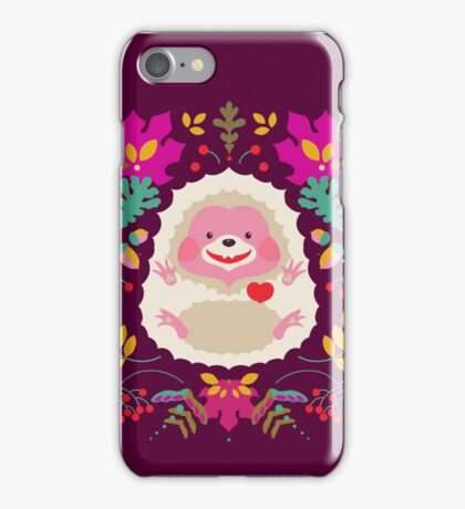 Hedgehog LOVE iPhone Case/Skin