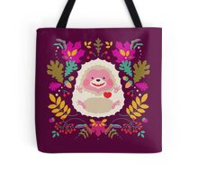 Hedgehog LOVE Tote Bag