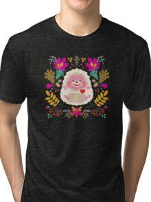Hedgehog LOVE Tri-blend T-Shirt