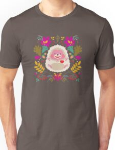 Hedgehog LOVE Unisex T-Shirt