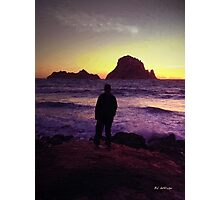 Sunset Sentinel Photographic Print