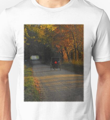 Now it's time to say goodbye to you... I'll be home tonight  Unisex T-Shirt