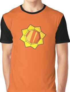 Pokemon Vermilion City Gym Thunder Badge Graphic T-Shirt
