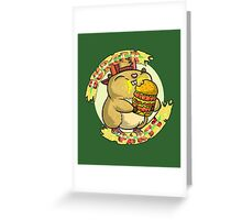 Hamster party Greeting Card