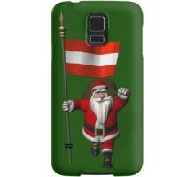 Santa Claus Visiting Of Austria Samsung Galaxy Case/Skin