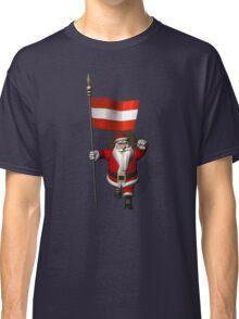 Santa Claus Visiting Of Austria Classic T-Shirt