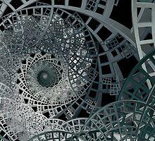 Sierpinski's Lattice II by Ross Hilbert