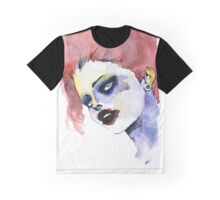 Woman in stains Graphic T-Shirt