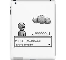 Wild Tribbles Appeared! iPad Case/Skin