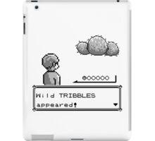 Wild Tribbles Appeared! iPad Case/Skin