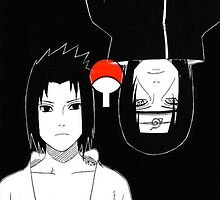Uchiha Brothers by Alice Haslam