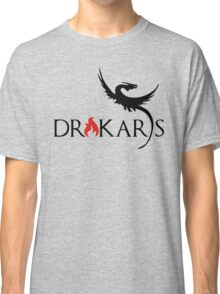 Drakars Mother of Dragons Black Classic T-Shirt