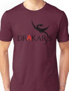Drakars Mother of Dragons Black Unisex T-Shirt