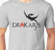 Drakars Mother of Dragons Black Unisex T-Shirt