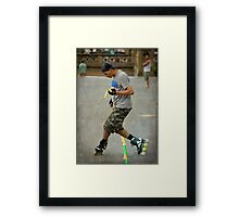 New Yorkers Framed Print