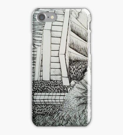 Frank Lloyd Wright: Falling Waters iPhone Case/Skin