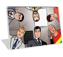 Archer and Friends Laptop Skin