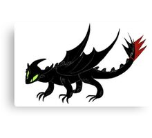 HTTYD Toothless Canvas Print