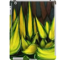 Leaves in abstract iPad Case/Skin