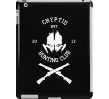 Cryptid Hunting Club (White) iPad Case/Skin