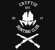 Cryptid Hunting Club (White) by Nguyen013