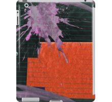 purple floral iPad Case/Skin