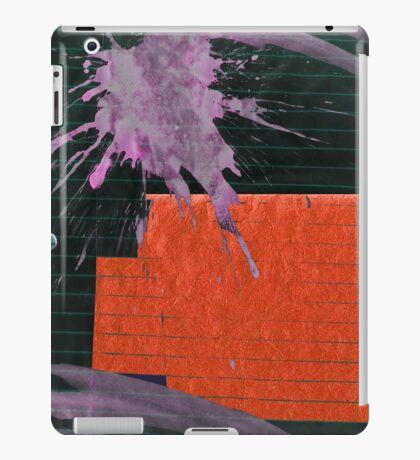 purple floral iPad Case/Skin