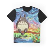 Art of Totoro - Studio Ghibli Graphic T-Shirt