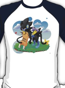 Luxray and Raichu T-Shirt