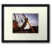 The Pirate Ship at Astroland  Framed Print